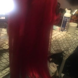 Accessories - Red hair extensions
